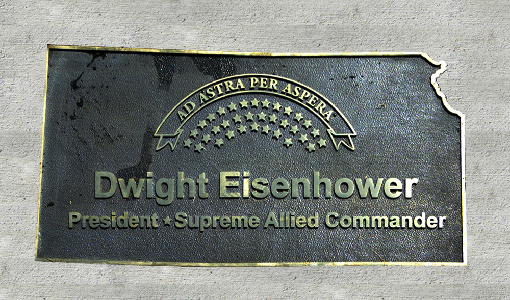 Kansas Walk of Honor - Dwight Eisenhower