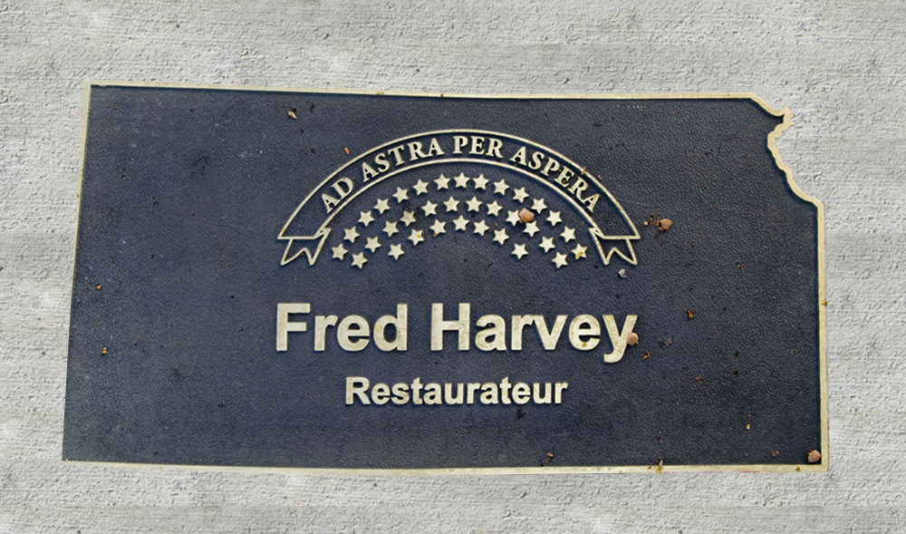Kansas Walk of Honor - Fred Harvey