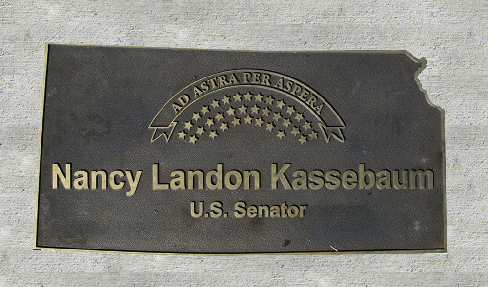 Kansas Walk of Honor - Nancy Landon Kassebaum