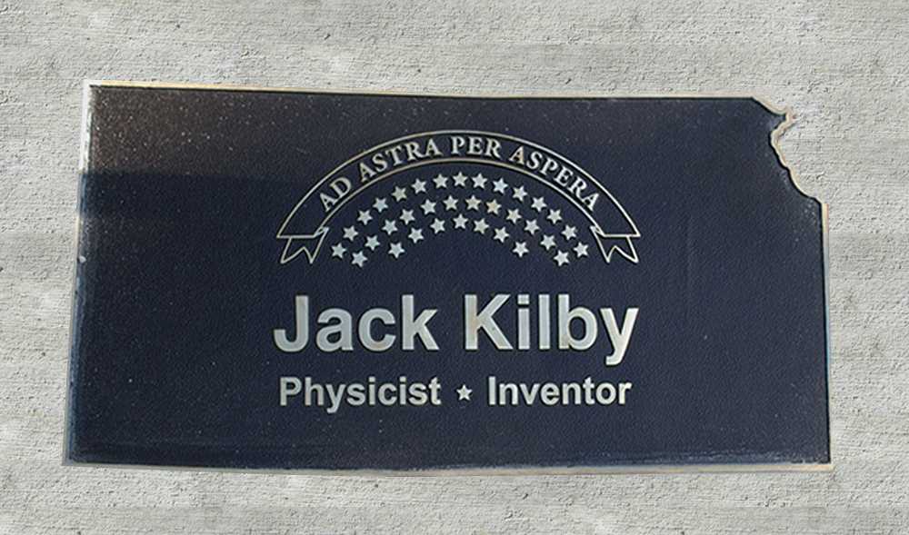 Kansas Walk of Honor - Jack Kilby