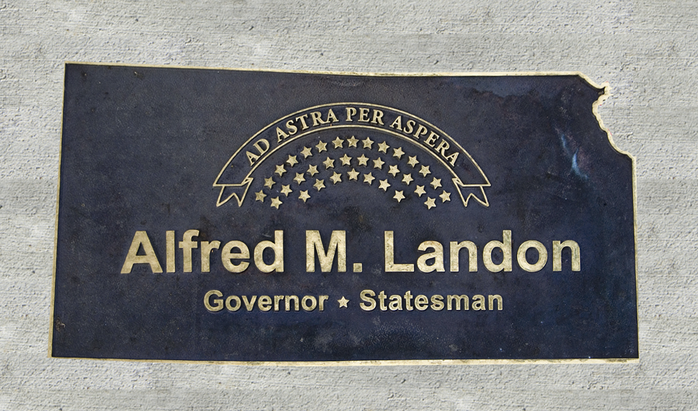 Kansas Walk of Honor - Alfred M. Landon