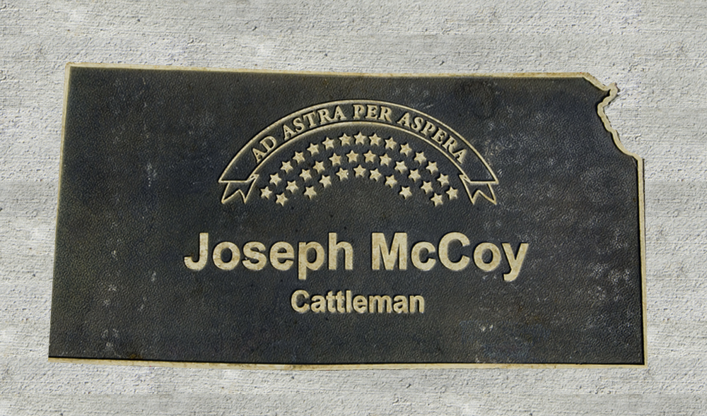 Kansas Walk of Honor - Joseph McCoy