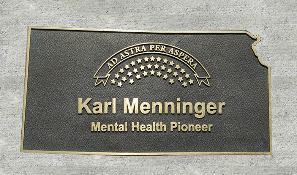 Kansas Walk of Honor - Karl Menninger
