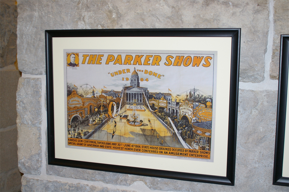Parker Shows poster, 1904, courtesy C. W. Parker Archives/Collection of Barbara Fahs Charles