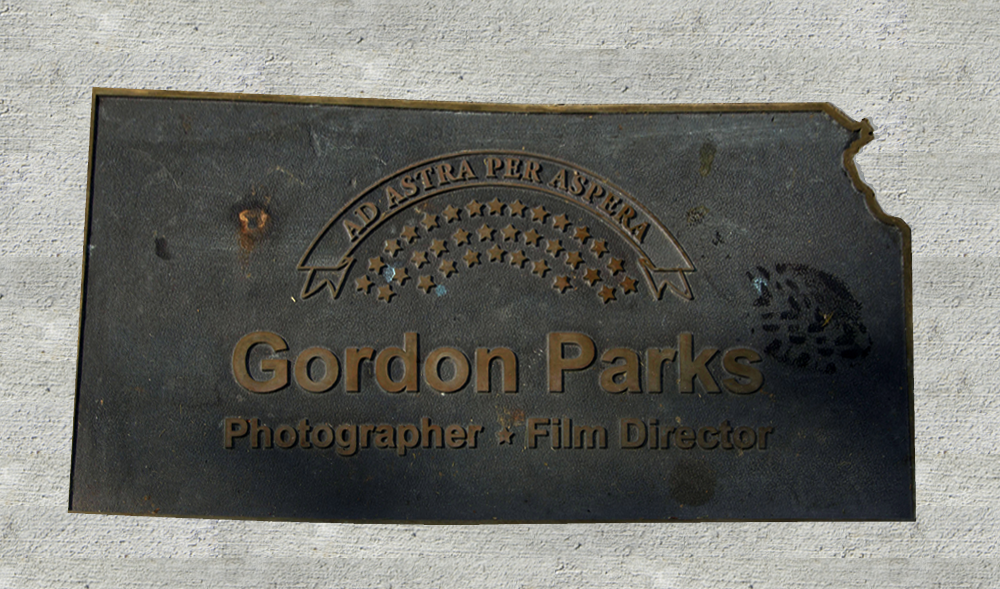 Kansas Walk of Honor - Gordon Parks