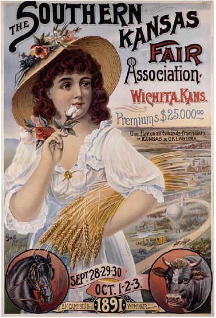 Southern Kansas Fair poster