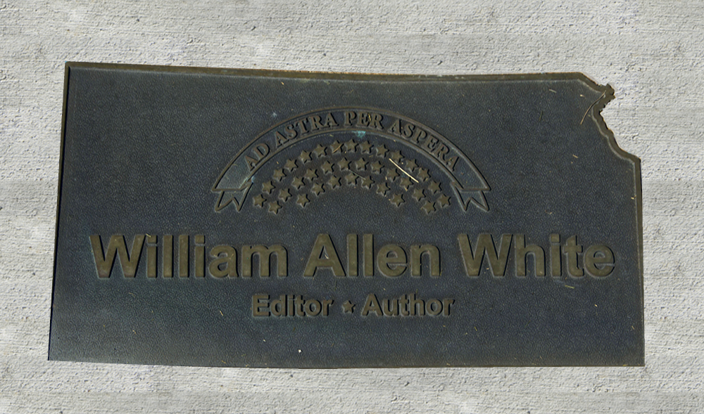 Kansas Walk of Honor - William Allen White