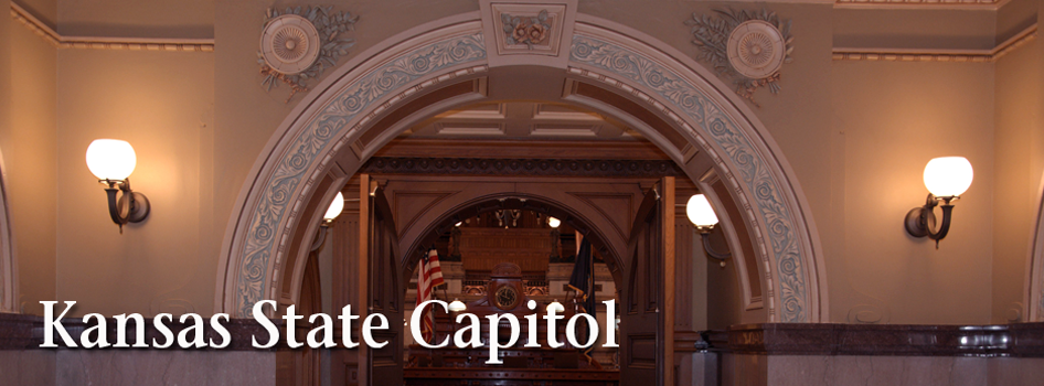 Kansas State Capitol Senate Chamber entrance