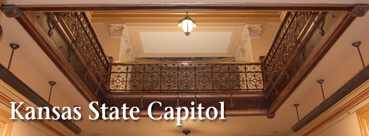 Kansas State Capitol ceiling detail