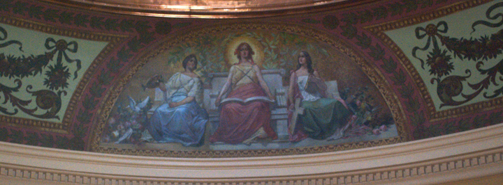 Murals, Capitol fifth floor