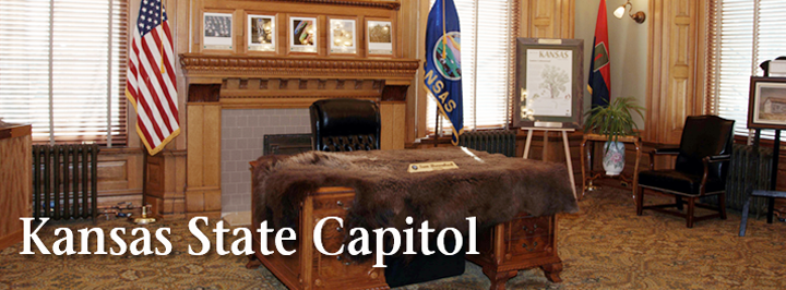 Kansas State Capitol ceremonial office of the governor