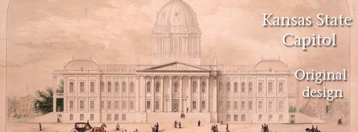 Kansas State Capitol, original design