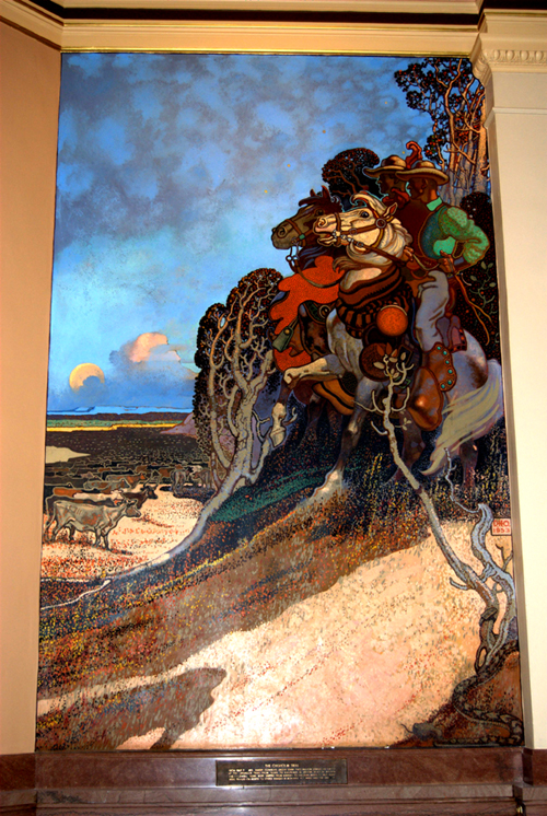 Chisholm Trail by David Overmyer
