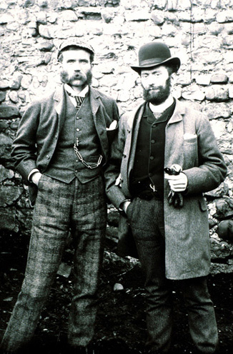 John Fenton Pratt, pictured left