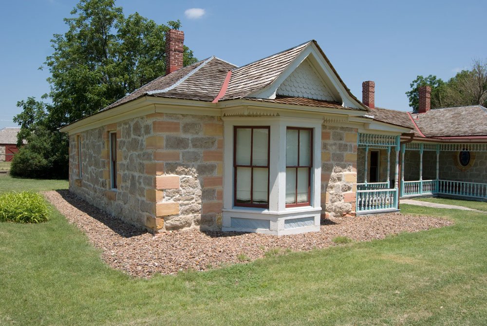 West wing, Cottonwood Ranch State Historic Site