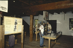 Exhibits at First Territorial Capitol