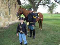 Fort Hays Young Troopers program