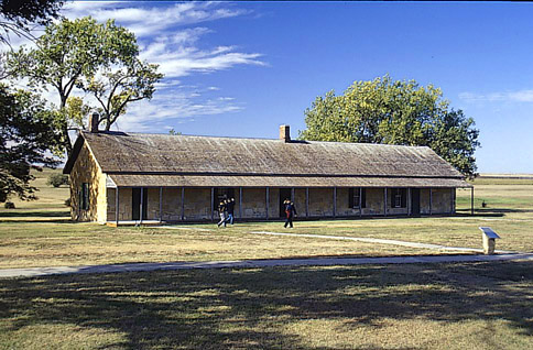 Fort Hays Guard house