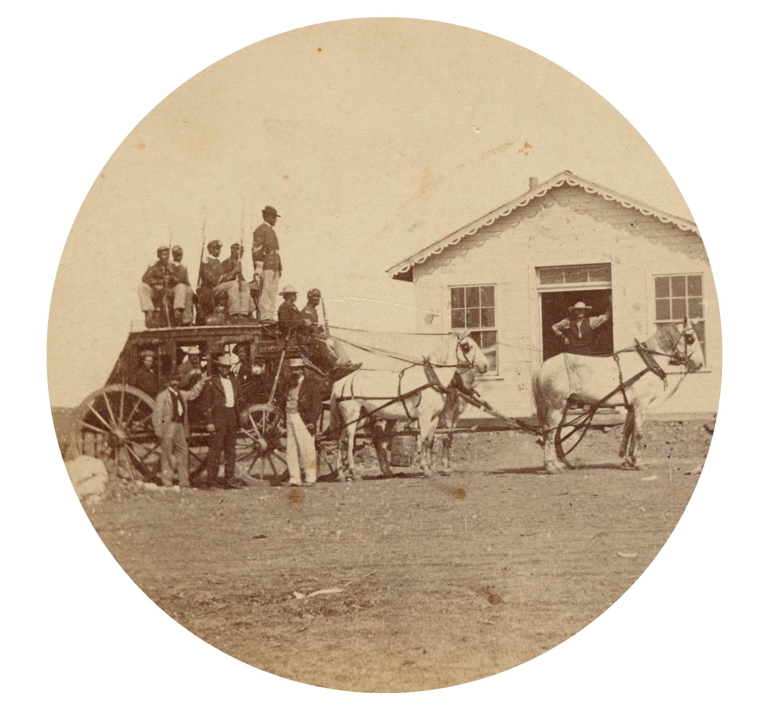 Fort Hays soldiers