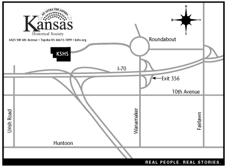 West Topeka driving map