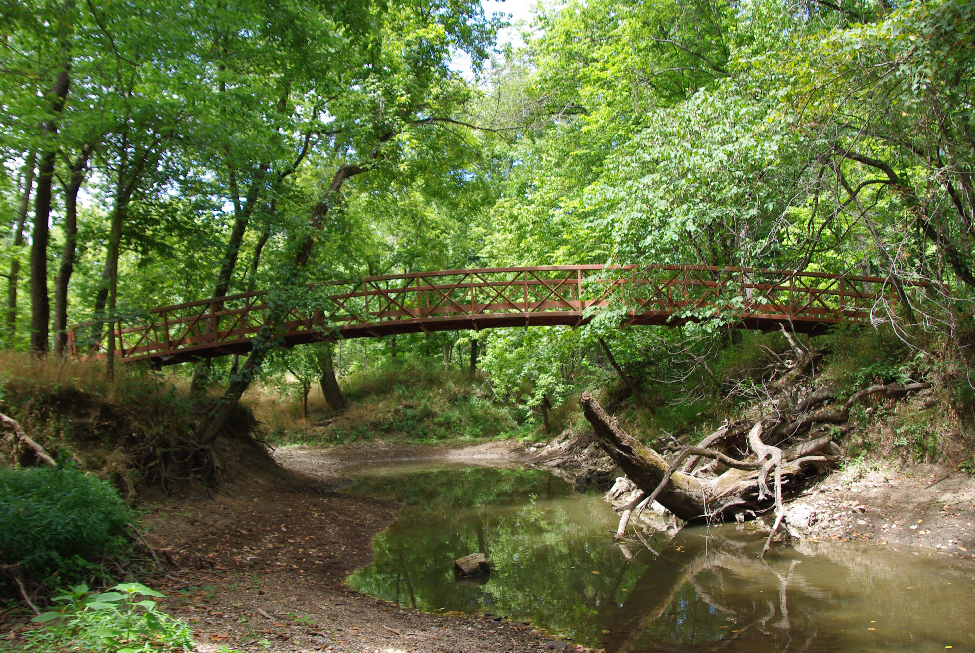 Bridge over Mine Creek.