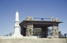DAR monument at Pawnee Rock in Barton County, Kansas
