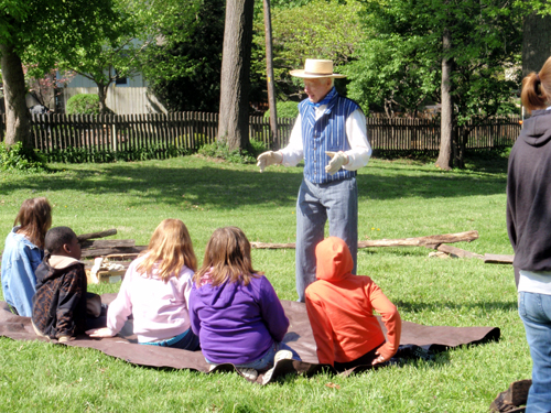 Shawnee Indian Mission field trips
