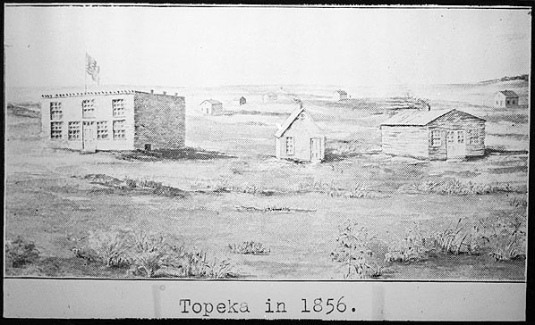 Image of Topeka, 1856.
