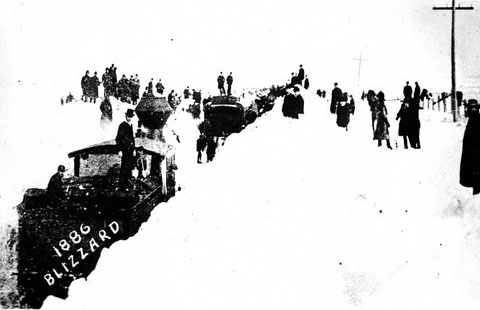 Blizzard of 1886