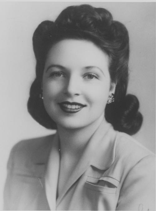 Photograph of Esther Brown, 1948