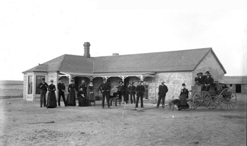 Cottonwood Ranch, 1888