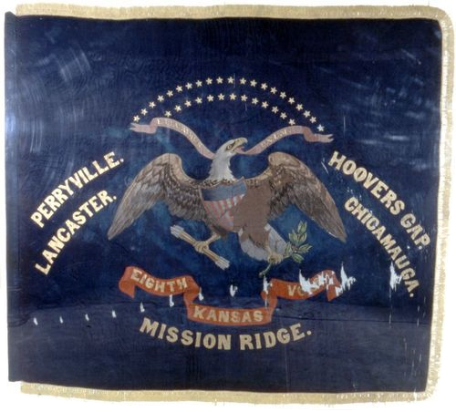 Eighth Kansas Battle Flag