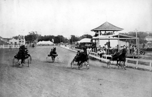 Racing at Kansas Free Fair, 1914