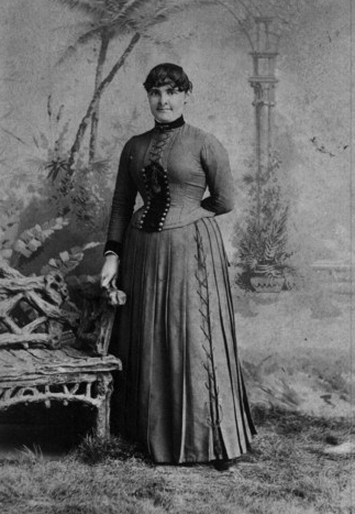 Portrait of Martha Farnsworth