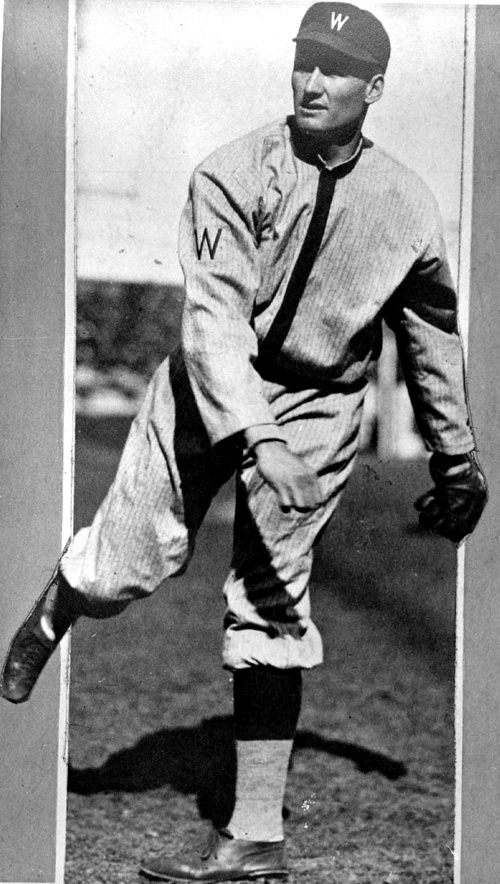 Walter Johnson, 1913