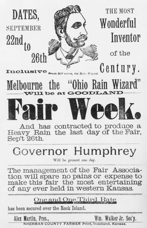 Melbourne the Rain Wizard, 1891