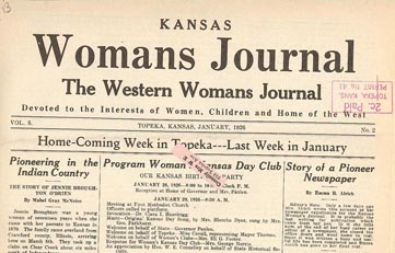 Kansas Woman's Journal
