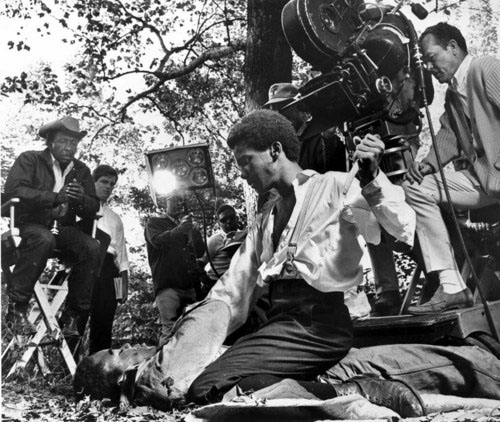 Gordon Parks directing The Learning Tree, 1968