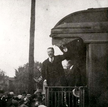 President Theodore Roosevelt at Osawatomie in Kansas Memory