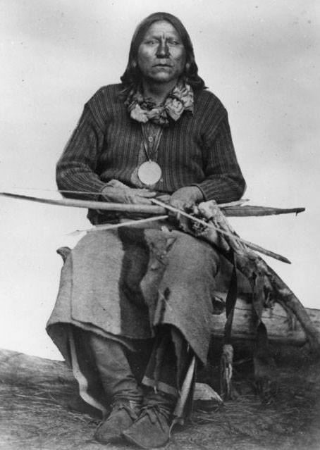 Satanta, Kiowa chief, was sub-chief in 1864