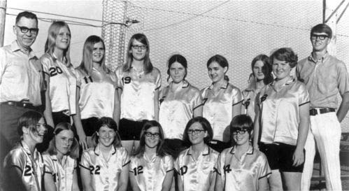 Softball champion team from Oakley, circa 1965