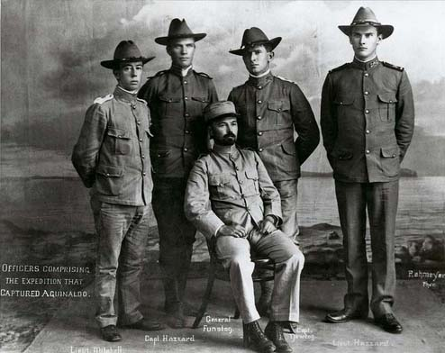 Kansas officers in the Spanish American War
