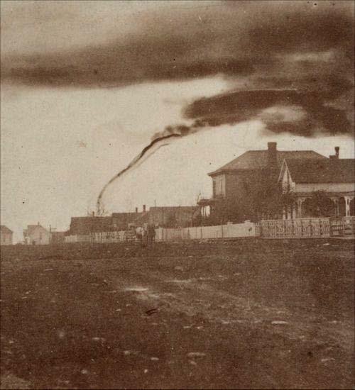Tornado in Anderson County, 1884