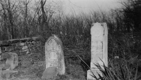 Victims of cholera in Union Cemetery, Shawnee County