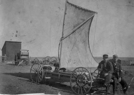 Wind Wagons - Kansapedia - Kansas Historical Society