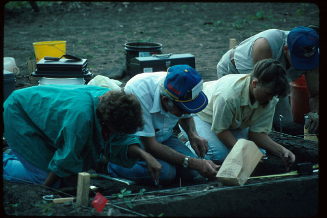 photo Kansas Archeology Training Program, 1991