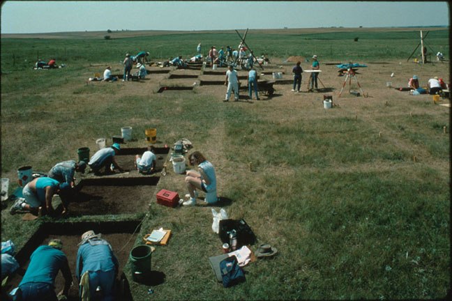 photo Kansas Archeology Training Program, 1992