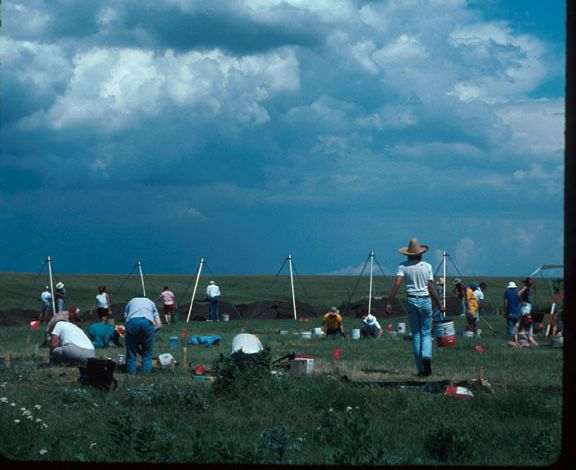 photo Kansas Archeology Training Program, 1993