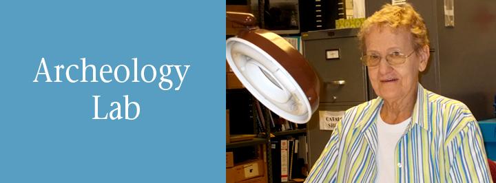 Kansas Historical Society archeology lab