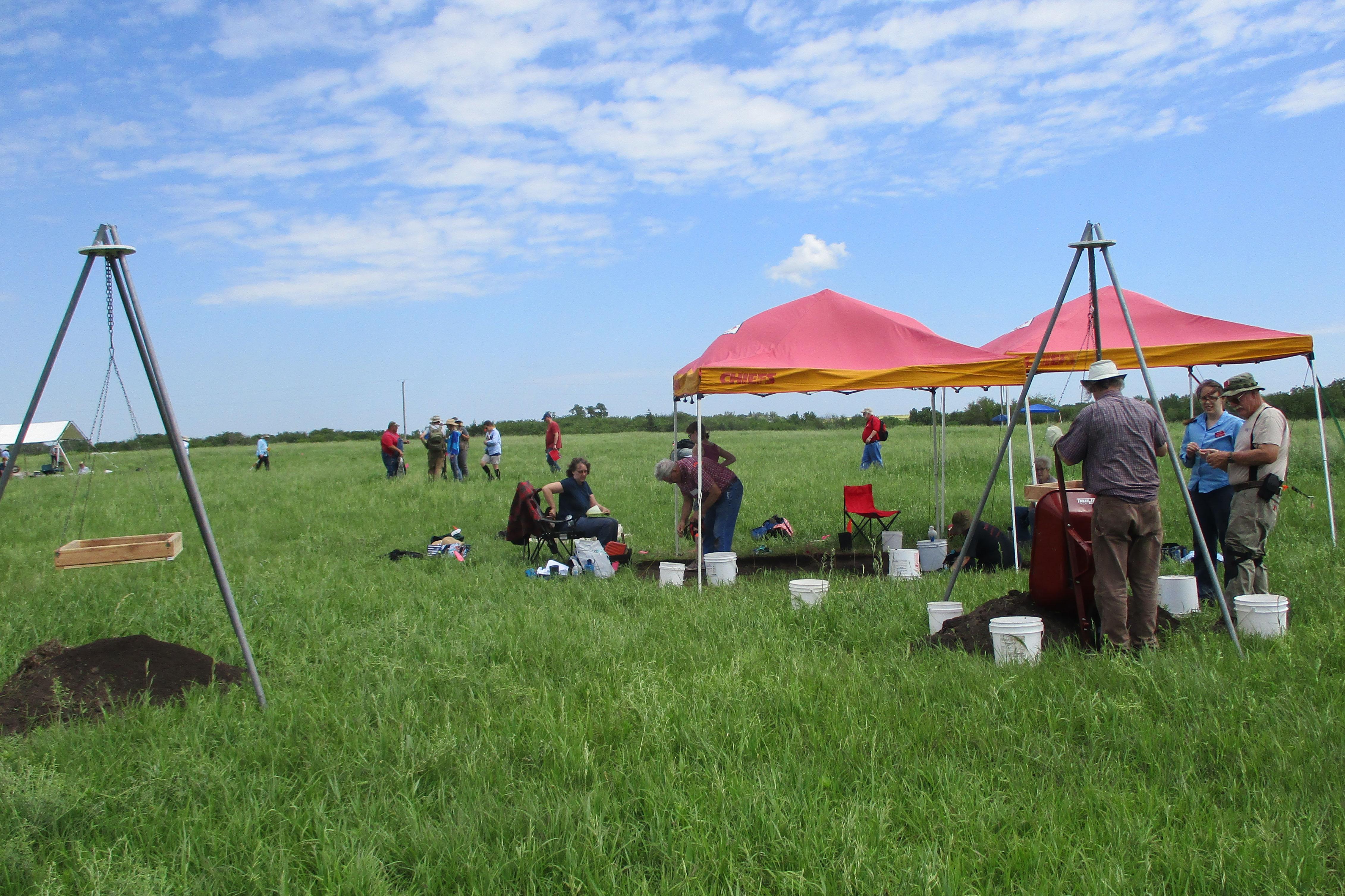 Kansas Archeology Training Program Field School Archive